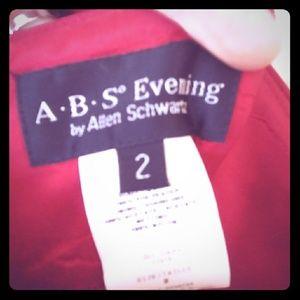 A.B.S by Allen Schwartz gown